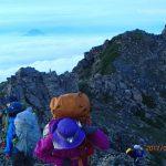 北岳への登行